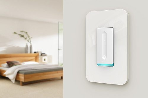 Smart Light Switch In Bedroom
