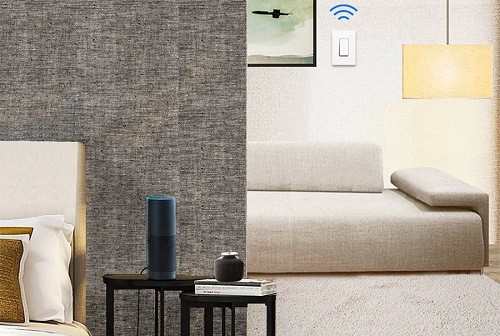 TP-Link Smart Wi-Fi Light Switch In Living Room
