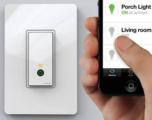 Using App For Turning Lights On